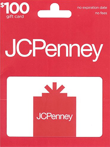 $100 JCPenney Gift Card